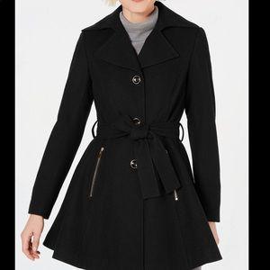 INC International Concept Skirted Walker Coat XS